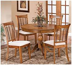 Amazon Pedestal Dining Table Set Table & Chair Sets