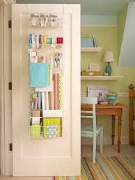 How To Get Organized In A Small House Back Of The Door Organizing Via BHG