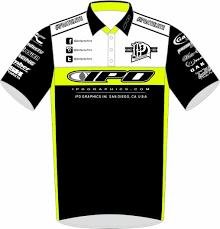 100 Kc Design IPD Team PitShirt KC