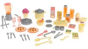 Amazon Barbie Play All Day Kitchen Set With Doll Toys Games