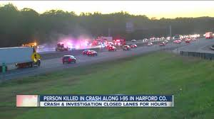 100 Joppa Car And Truck World Deadly Crash On I95 In Md YouTube