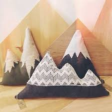 Mountain Pillows For Your Home Great With Any Decor Woody Feel And Added Coziness To Rustic Or Cabin Themed Room So Adorable