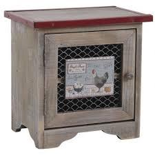 boite de rangement cuisine boite à oeufs en bois deco poule vintage