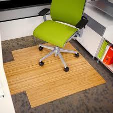 Chair Office Depot Plastic Carpet Desk Mats For Protector Literarywondrous Bambooffice Mat Anji Mountain Roll Chairmat