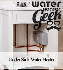 benefits of under sink water heater