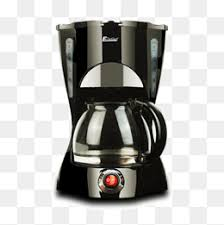 Coffee Maker Pot Black PNG And PSD
