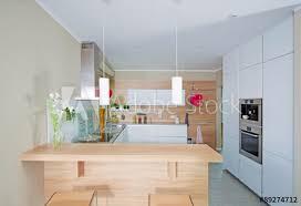 küche im modernen stil fototapete
