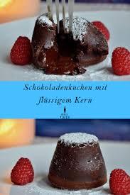 schokoladenkuchen flüssiger kern rezepte auf