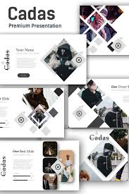 100 Cadas Creative Presentation PowerPoint Template 74351