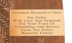 John F. Kennedy's Rocking Chair