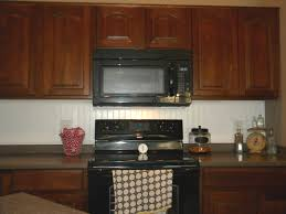 Kitchen Backsplash Pictures With Oak Cabinets by Kitchen Beadboard Kitchen Backsplash Panel Vs Wainscoting Picture