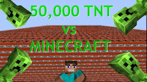 50 000 TNT vs MINECRAFT [2017]