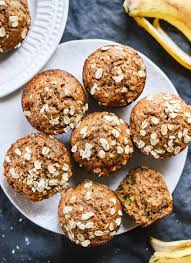 Healthy Banana Muffins Recipe Whole Grains Naturally Sweetened And So Good