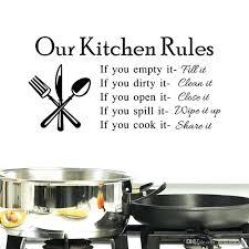 Wall Arts Kitchen Rules Art Uk My