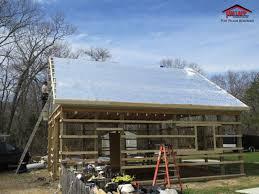 Pole Building Insulation Tam Lapp Construction LLC
