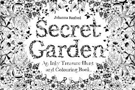 Johanna Basfords Adult Coloring Book Is Currently No 2 On Amazons Top 100 List