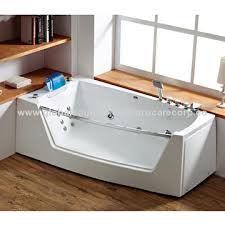 portable bathtub for adults with transparent tempered glass