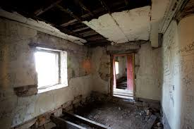 Run Down Apartment Interior Of Homestead