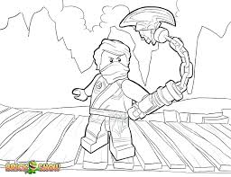 Lego Ninjago Coloring Page Pages Free Printable Kai Zx