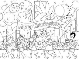 Coloring Pages Printable Thanksgiving Celebration