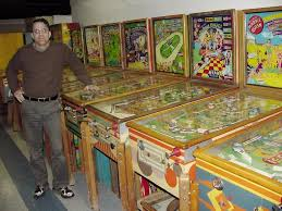 PINBALL Collector Buys Pinball Machines Baseball EM Arcade Games
