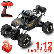 100 Remote Control Trucks For Kids Amazoncom Veken Electric Car 1 12 Large Scale