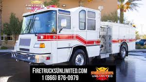 100 Fire Trucks Unlimited Pierce Quantum For Sale Trucks YouTube