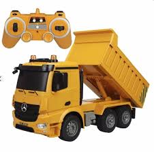 Large 14 Inch Rc Mercedes Benz Heavy Construction Dump Truck Remote ...