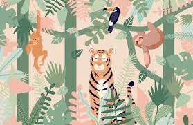 Kids Jungle Wallpaper Mural | MuralsWallpaper Amazoncom Pink Safari 1st Birthday High Chair Decorating Kit 4pc Patchwork Jungle Sofa Chairs Boosters Mum N Me Baby Shop Maternity Nursery Song English Rhyme For Children Safety Timba Wooden Review Brain Memoirs Hostess With The Mostess First Party Ideas Diy Projects Jual Tempat Duk Meja Makan Bayi Babysafe Kursi Baby Safe Food Banner Bannerjungle Animal Print Zoo Fisherprice Infanttoddler Rocker Removable Bar Kids Childrens Sunny Outdoor Table 2 Stool Amazon Com Elecmotive Wild Vinyl Wall Sports Themed