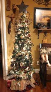 9 Ft White Pencil Christmas Tree by My Primitive Christmas Tree Christmas Pinterest Primitive