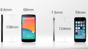Nexus 5 vs iPhone 5s – Gizmag – Alpha 4G
