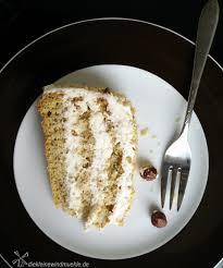 sahne nuss torte die kleine windmuehle