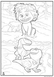 Good Dinosaur Coloring Pages Free Printable 34