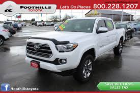 100 Used Toyota Tacoma Trucks For Sale For In Bellingham WA 98225 Autotrader