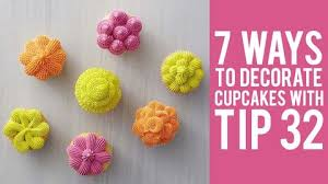 How To Decorate Cupcakes With Tip 32