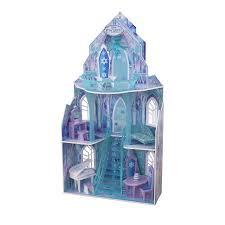 Frozen Bathroom Set At Walmart by Kidkraft Disney Frozen Ice Castle Dollhouse With 11 Accessories