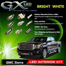 100 Interior Truck Lighting Details About 8X White LED Lights Package Kit For 20072013 GMC Sierra 1500 2500 US