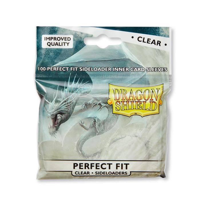Dragon Shield Perfect Fit Sideload Sleeves - Clear