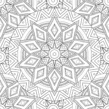 Download Coloring Pages For AdultsDecorative Hand Drawn Doodle Nature Ornamental Curl Vector Sketchy Seamless