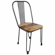 stuhl industrie design hairpin silber stapelbar esszimmerstuhl steunk modern