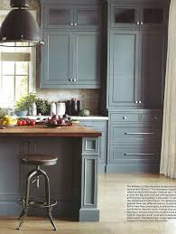 Teal Green Kitchen Cabinets by Best 25 Blue Gray Kitchen Cabinets Ideas On Pinterest Colored