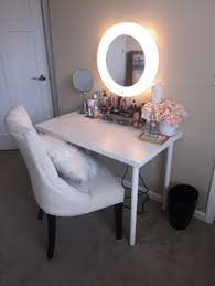 Diy Vanity Table With Lights by Diy Vanity Mirror With Lights For Bathroom And Makeup Station