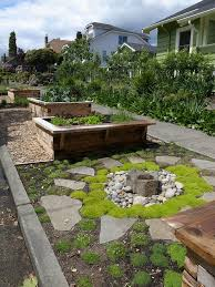 Juniper Landscape Traditional With Dish Rock Rustic Outdoor Pots And Planters