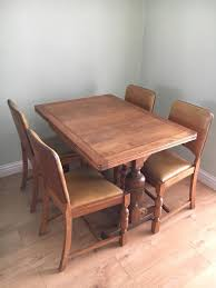 Antique Dining Table And Chairs - 1940s | In Sydenham, London | Gumtree Art Deco Ding Room Set Walnut French 1940s Renaissance Style Ding Room Ding Room Image Result For Table The Birthday Party Inlaid Mahogany Table With Four Chairs Italy Adams Northwest Estate Sales Auctions Lot 36 I Have A Vintage Solid Mahogany Set That F 298 As Italian Sideboard Vintage Kitchen And Chair In 2019 Retro Kitchen 25 Modern Decorating Ideas Contemporary Heywood Wakefield Fniture Mediguesthouseorg