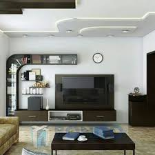 Home Interior Work Wall Tv Stand