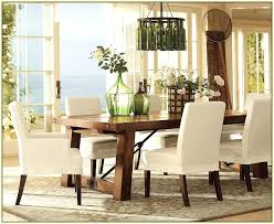 Dining Room Chairs Slipcovers Pottery Barn Photo Pic On