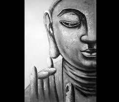 Buddha Painting Abstract Art Feng Shui Zen