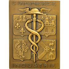chambre des commerces versailles 551137 medal chambre de commerce de versailles 1939