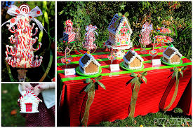 Childrens Gingerbread House Decorating Christmas Party