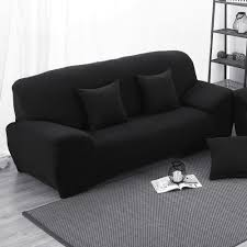 Cheap Living Room Chair Covers by Sofa Cover Black Cheap Centerfieldbar Com